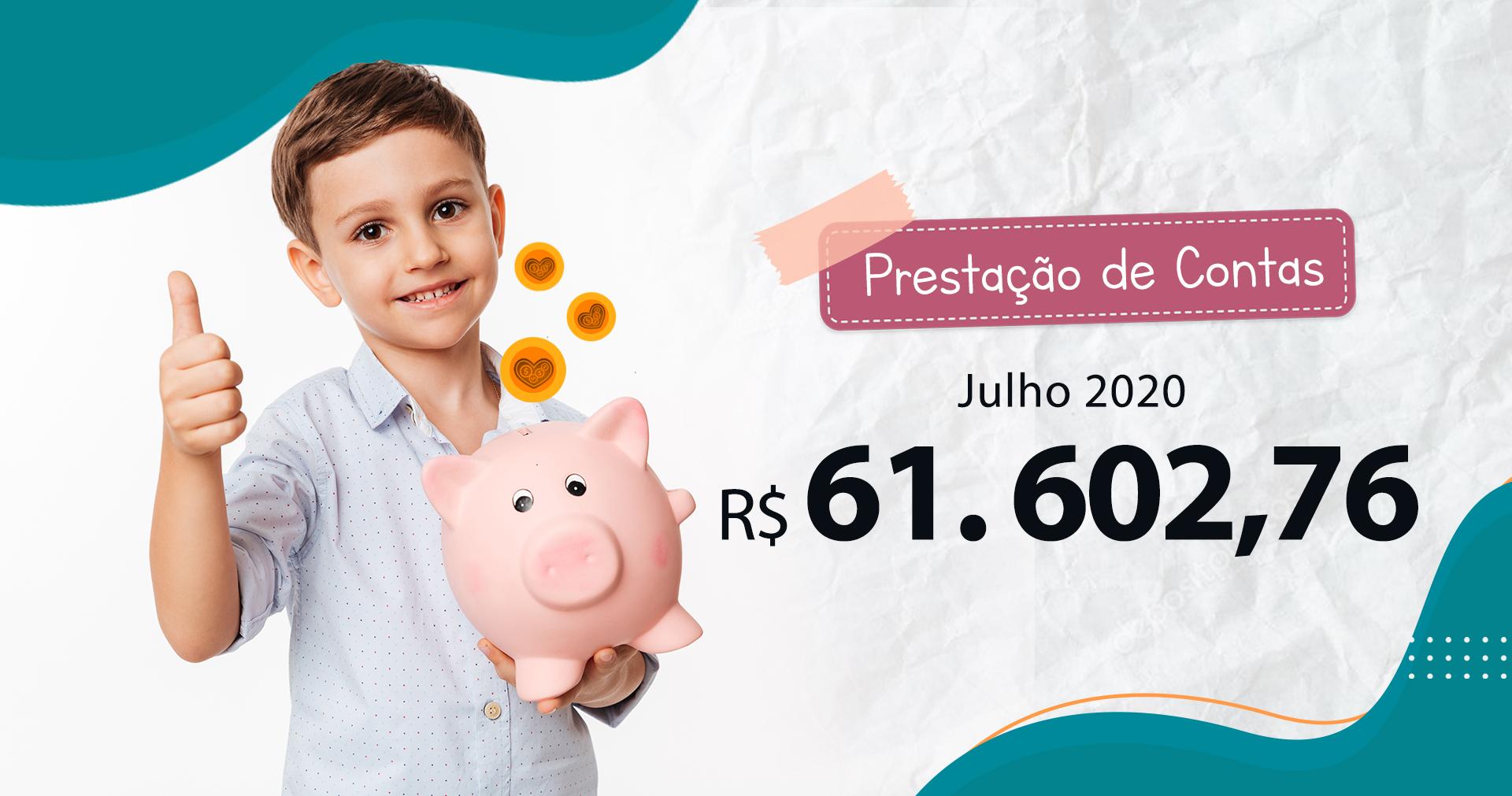 Prestação de Contas Julho/2020